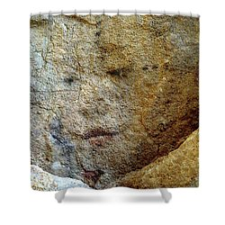 Shower Curtain featuring the photograph Earth Memories - Stone # 5 by Ed Hall