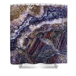 Earth Portrait 001-176 Shower Curtain