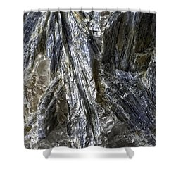 Earth Portrait Kyanite 001-089 Shower Curtain