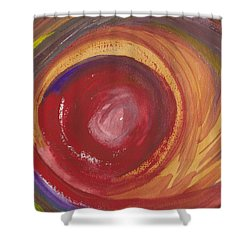 Earth Storm  Shower Curtain