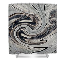 Earth Wave Shower Curtain