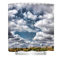 Shower Curtain featuring the photograph Earthbound - Live Oak Texas by Wendy J St Christopher