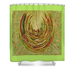 Earthy Shower Curtain