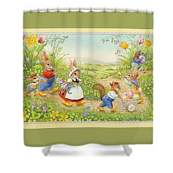 Easer Parade Shower Curtain