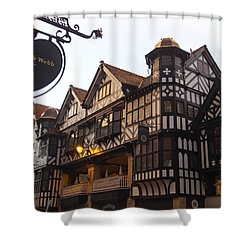 East Gate Shower Curtain