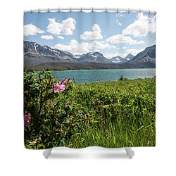 East Glacier National Park Shower Curtain