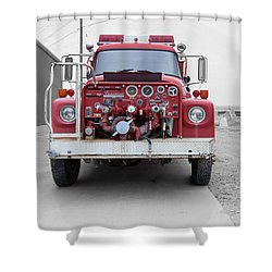 Shower Curtain featuring the photograph East Glacier No 4 by Fran Riley