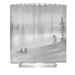 East Inlet Shower Curtain