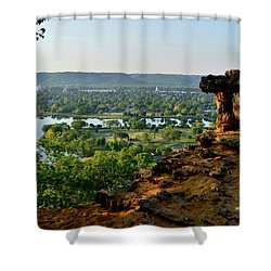 East Lake Winona Shower Curtain