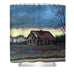East Of Eden Shower Curtain