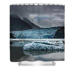 East Sawyer Glacier Shower Curtain
