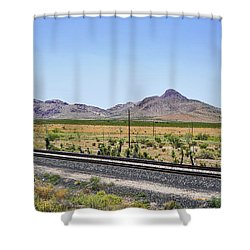 East To West Shower Curtain