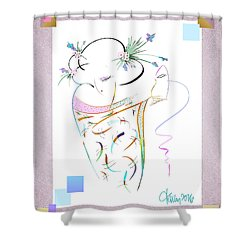 East Wind - Masquerade Shower Curtain