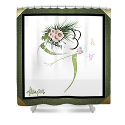 East Wind - Small Gathering 2 Shower Curtain