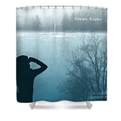 Easter 2016 Shower Curtain