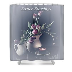 Easter Blessings No. 3 Shower Curtain