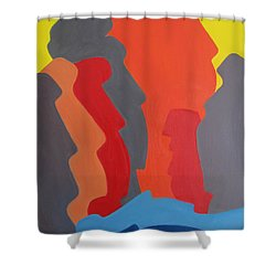 Easter Island Shower Curtain by Michael  TMAD Finney AKA MTEE