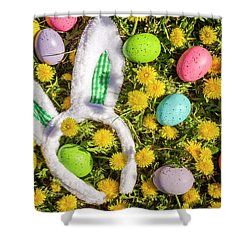 Shower Curtain featuring the photograph Easter Morning by Teri Virbickis