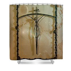 Easter Remembrance II Shower Curtain by Al Bourassa