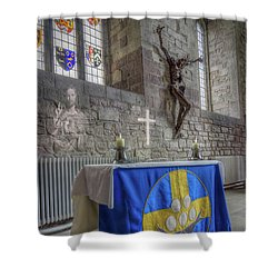 Shower Curtain featuring the photograph Easter  The Resurrection Of Jesus by Ian Mitchell