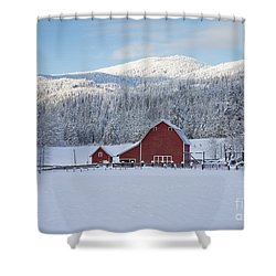 Easterday Ranch 1 Shower Curtain