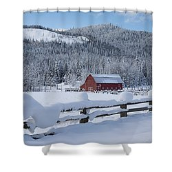 Easterday Ranch 3 Shower Curtain