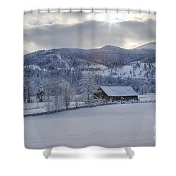 Easterday Ranch 4 Shower Curtain