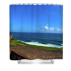 Eastern Caribbean Shower Curtain