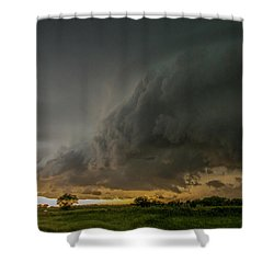 Eastern Nebraska Moderate Risk Chase Day Part 2 004 Shower Curtain