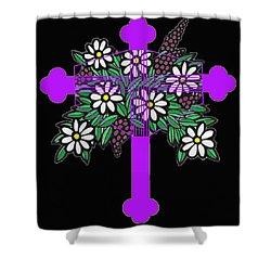 Eastern Ornate 1 Shower Curtain