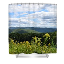 Eastern Summit 1 Shower Curtain