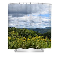 Eastern Summit 2 Shower Curtain