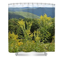 Eastern Summit 3 Shower Curtain