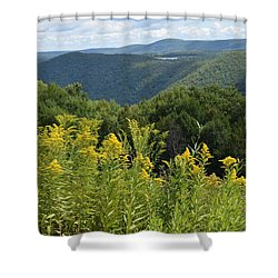 Eastern Summit 4 Shower Curtain
