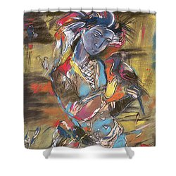 Eastern Tapestry Shower Curtain