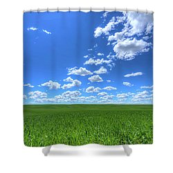 Eastern Washington Screensaver Shower Curtain