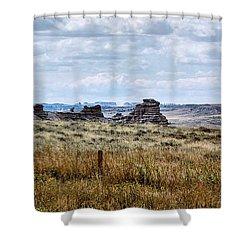 Eastern Wyoming Sky Shower Curtain