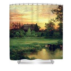 Easthampton Shower Curtain by Thomas Moran