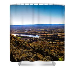 Easthampton View From Summit House Shower Curtain
