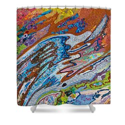Eastward Ho Shower Curtain