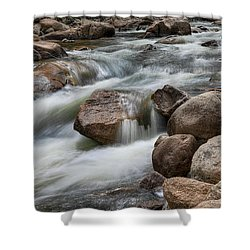 Shower Curtain featuring the photograph Easy Flowing by James BO Insogna