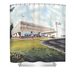 Eaton Corp Administration Building Shower Curtain