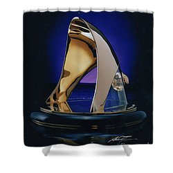 Eaton Quality Award Sculpture  Shower Curtain