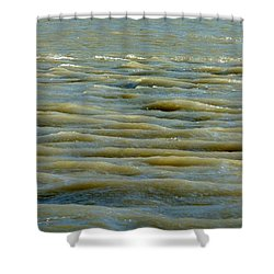 Eaux Vertes Shower Curtain by Marc Philippe Joly