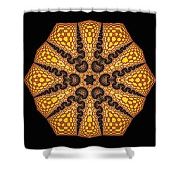 Shower Curtain featuring the digital art Eb by Robert Thalmeier