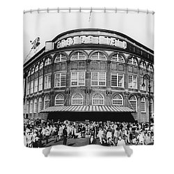 Ebbets Field, Brooklyn, Nyc Shower Curtain by Photo Researchers