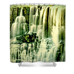 Shower Curtain featuring the photograph Ebor Falls, Australia by Wallaroo Images