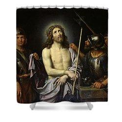 Ecce Homo  Shower Curtain by Pierre Mignard
