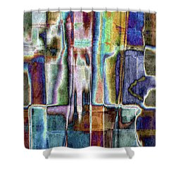 Eccentric Spirit Shower Curtain