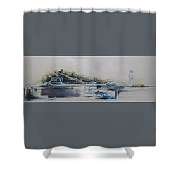 Echelon Shower Curtain